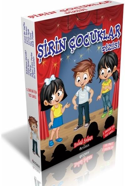 Şirin Çocuklar Dizisi 2. Sınıflar İçin Hikaye Seti 10 Kitap Testli