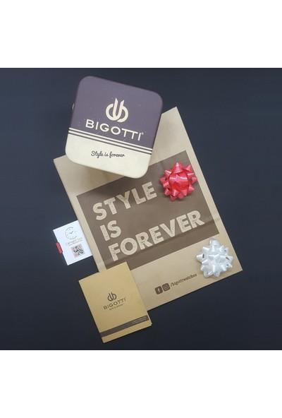 Bigotti Milano 8680161719441 Multicolor Fonksiyonlu Erkek Kol Saati