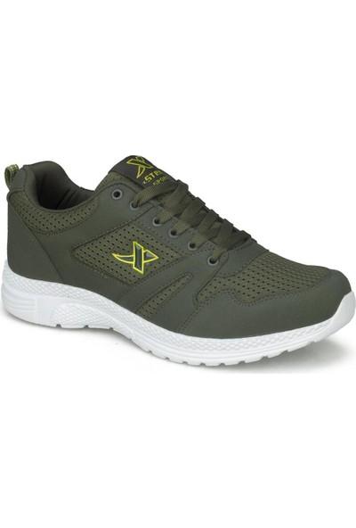 X-Step Haki Erkek Ayakkabı Erkek Sneaker