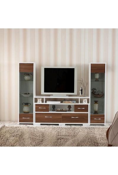 Abre Ceviz TV Ünitesi LCD Sehpası VM 440441