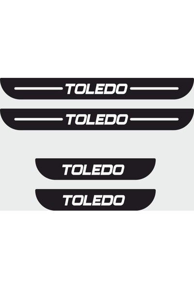 Appcity Seat Toledo Plastik Kapı Eşiği