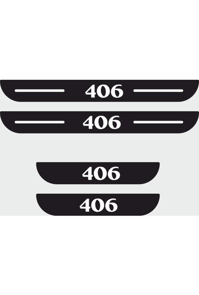 Appcity Peugeot 406 Plastik Kapı Eşiği