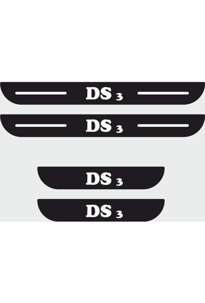 Appcity Citroen Ds3 Plastik Kapı Eşiği