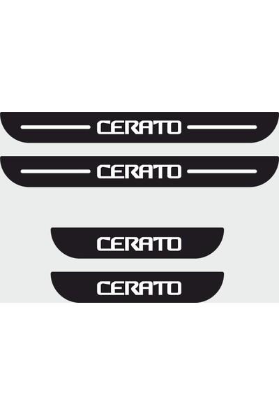 Appcity Kia Cerato Plastik Kapı Eşiği