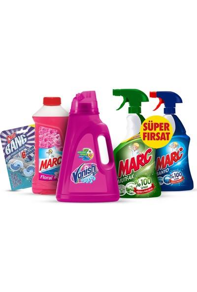Vanish + Marc + Cillit Bang Temizlik Paketi