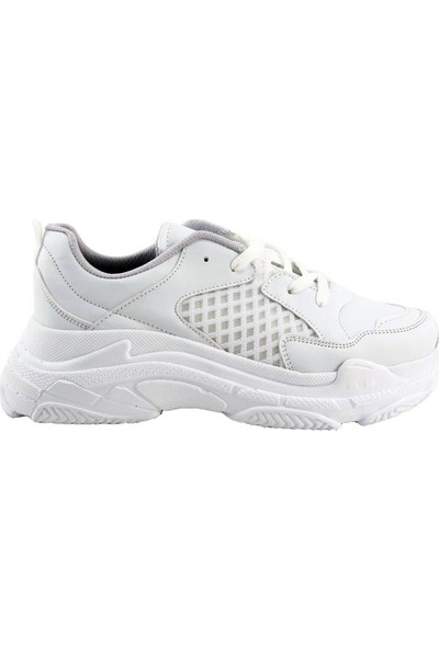 Mille Valerya Günlük Giyim Kadın Ayakkabı Beyaz