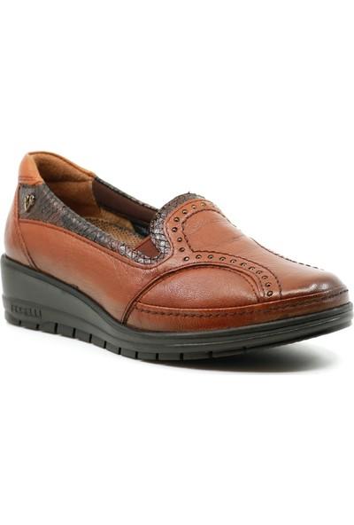 Forelli Ortopedik Hakiki Deri Kadın Ayakkabı 25109
