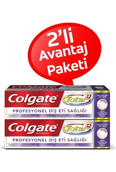 Colgate Diş Macunu Total Profesyonel Diş Eti Sağlığı 75 ml x 2 Paket