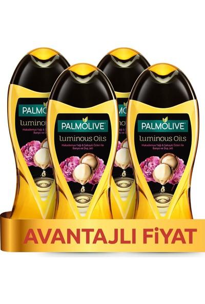 Palmolive Duş Jeli Luminious Oil Macademia 500 ml x 4 Adet