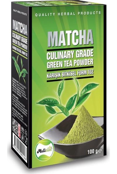 Multidem Matcha Natural Çayı 100 gr 3' lü