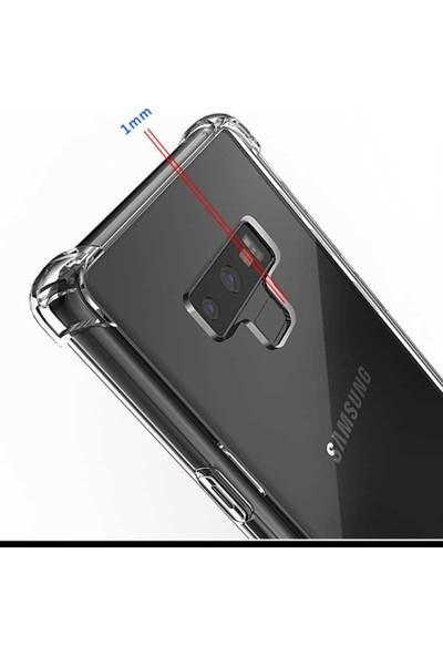 Casestore Samsung Galaxy S7 Edge Kılıf Ultra Lüx Özel Dört Köşeli Anti Crack Silikon TPU Kılıf