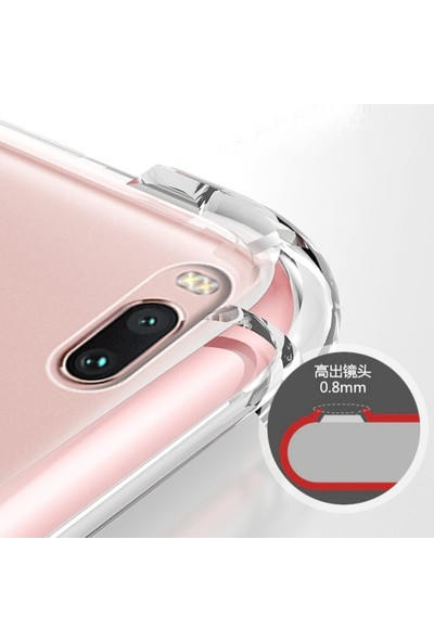 Casestore Xiaomi Redmi Note 3 Kılıf Ultra Lüx Özel Dört Köşeli Anti Crack Silikon TPU Kılıf
