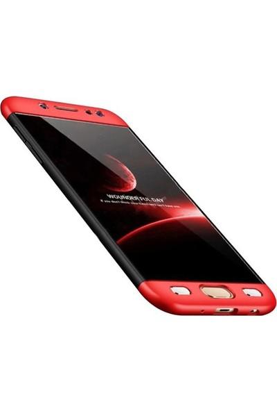 Casestore Samsung Galaxy J7 Prime Ön Arka 360 Derece Korumalı Sert Silikon Kılıf