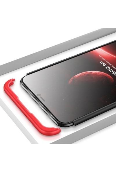 Casestore Huawei Honor Play Ön Arka 360 Derece Korumalı Sert Silikon Kılıf + Nano Ekran Koruyucu