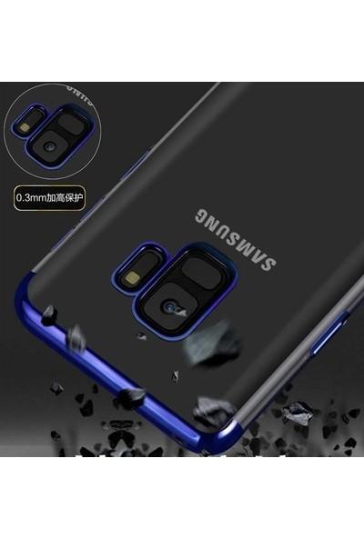 Casestore Samsung Galaxy A9 2018 Kılıf Dört Köşeli Ultra Lüx Lazer Kesim Kılıf