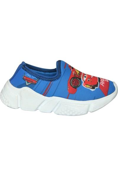 Disney Cars Erkek Çocuk Sneaker Mavi Spor Ayakkabı