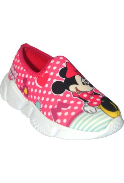 Minnie Mouse Kız Çocuk Sneaker Pembe Spor Ayakkabı
