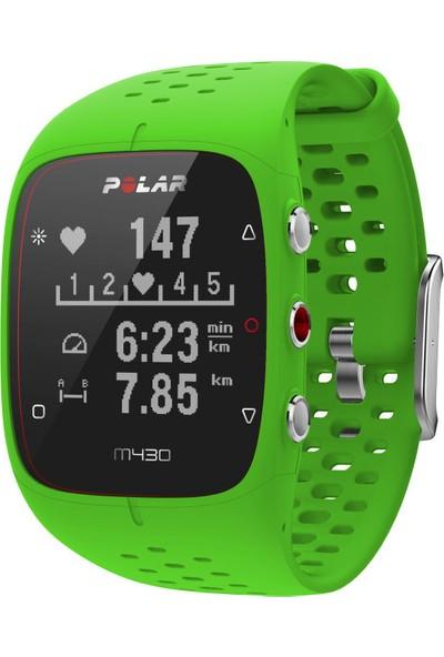 Polar M430 Yeşil Kalp Atış Monitörü GPS'li Nabız Kontrol Saati