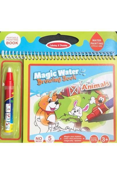 Magic Water Sihirli Boyama Kitabı Hayvanlar Alemi