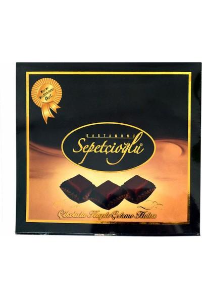 Sepetçioğlu Çikolata Kaplı Sade Çekme Helva 280 gr