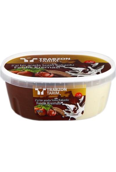 Trabzon Tarım Sütlü Kakaolu Fındık Kreması 500 gr