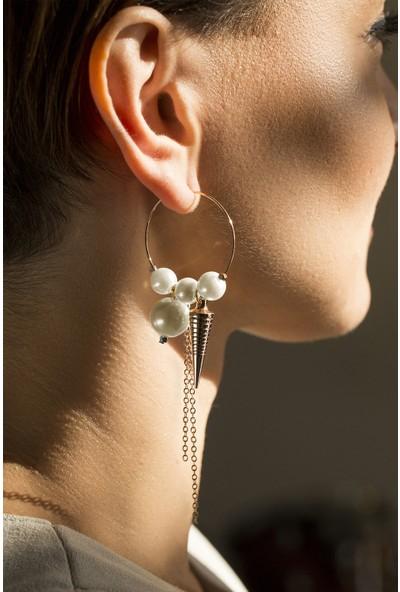 Amulette Jewel Rosegold İnci Küpe