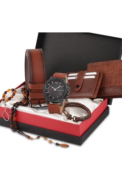Polo Rucci PL-0124E1 Erkek Kol Saati Seti