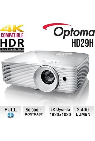 Optoma HD29H 4K HDR Destekli Full HD Projeksiyon Cihazı