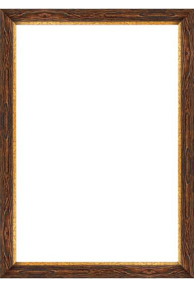 Art Puzzle Çerçevesi 500'lük Kahverengi Çerçeve
