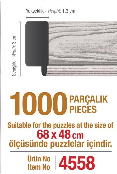 Art Puzzle Çerçevesi 1000'lik Beyaz Çerçeve