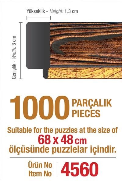 Art Puzzle Çerçevesi 1000'lik Kahverengi Çerçeve