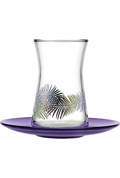 Paşabahçe Heybeli Fairytale Çay Bardağı Seti 12 Parça (6 Kişilik)