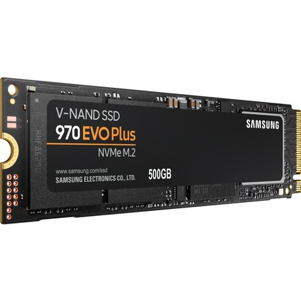 Samsung 970 Evo Plus NVMe 500GB 3500MB/s-3300MB/s M 2 SSD (MZ-V7S500BW)