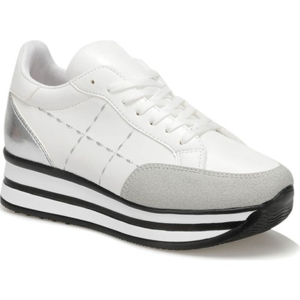 7031c6c275b78 Butigo 19S-179 Beyaz Kadın Spor Ayakkabı Fiyatı