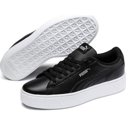 5ed9bb4a Puma Vikky Stacked L Siyah Siyah Kadın Sneaker Ayakkabı