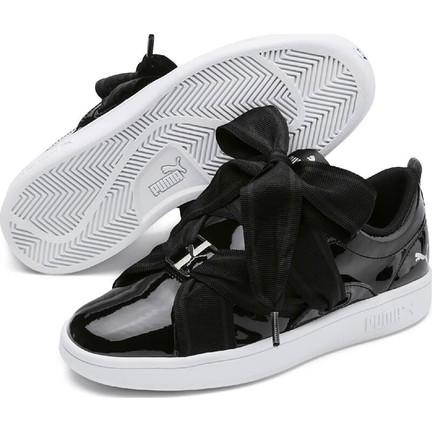 7e287b9bfa Puma Smash V2 Bkl Patent Jr Siyah Gümüş Beyaz Unisex Çocuk Sneaker  Ayakkabı. ‹ ›