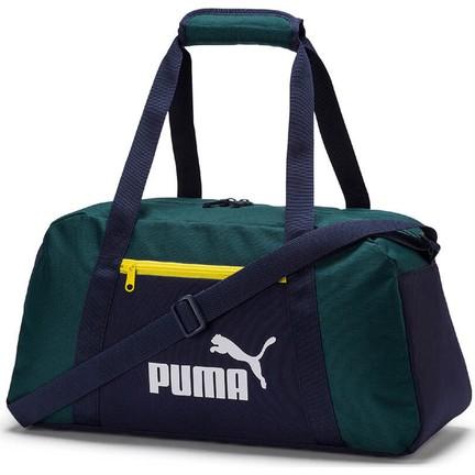 35aacd9c5b943 Puma Phase Sports Bag Koyu Yeşil Siyah Unisex Spor Çantası Fiyatı