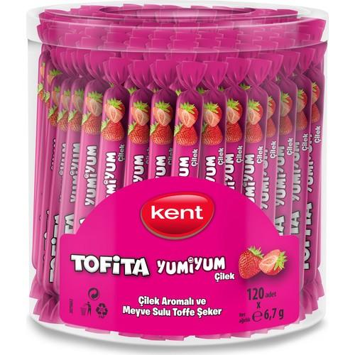 Kent Tofita Yumi Çilek 120'Li Kutu