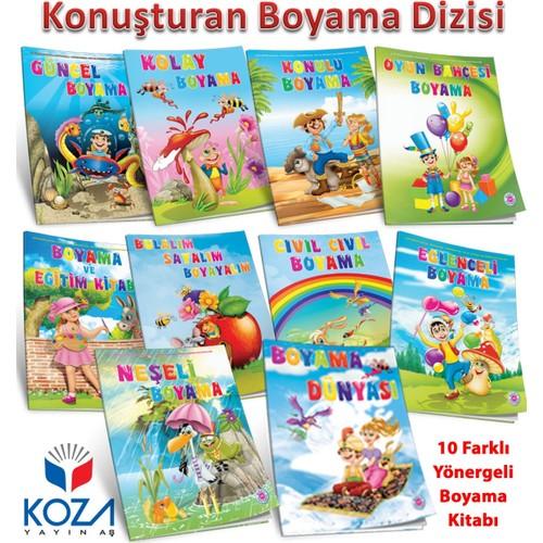 Konusturan Boyama Seti 10 Kitap Posetli 4 5 Yas Fiyati