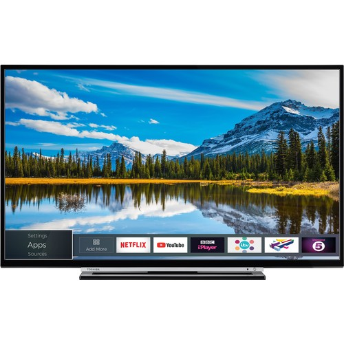 Toshiba 43L3863 43'' 109 Ekran Uydu Alıcılı Full HD Smart LED TV
