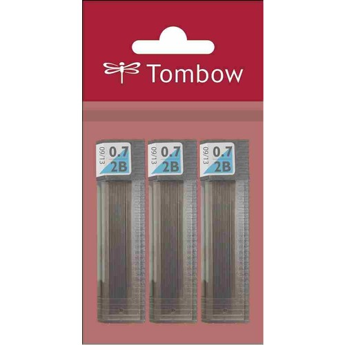 Tombow 07 mm 2B Klasik Üç 3 lü Set