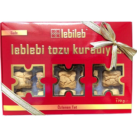 Lebileb Leblebi Tozu Kurabiyesi Sade (2 Paket 170 gr + 170 gr)
