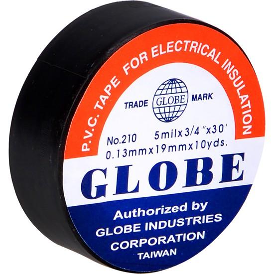Globe Plastik İzole Elektrik Bandı - Siyah