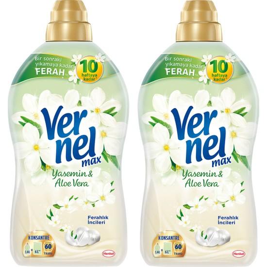 Vernel Max Yasemin&Aloe Vera Max 1440 ml 2'li Set