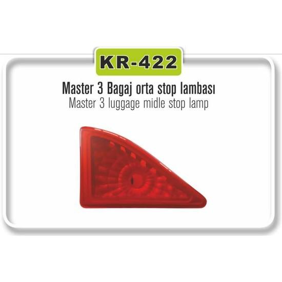 Kaya Stop Lambası Bagaj Orta 3.Stop Master III
