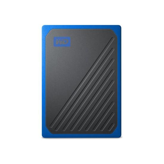 WD My Passport Go 500GB 400MB/s USB 3.0 Mavi Taşınabilir SSD WDBMCG5000ABT-WESN