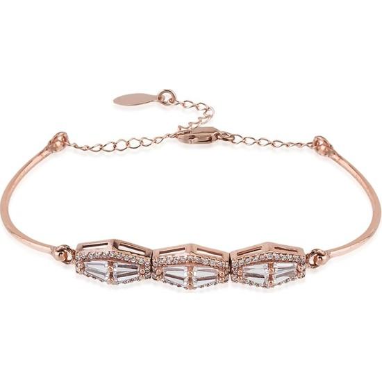 Paljewelry Baget Taşlı Tria Bileklik