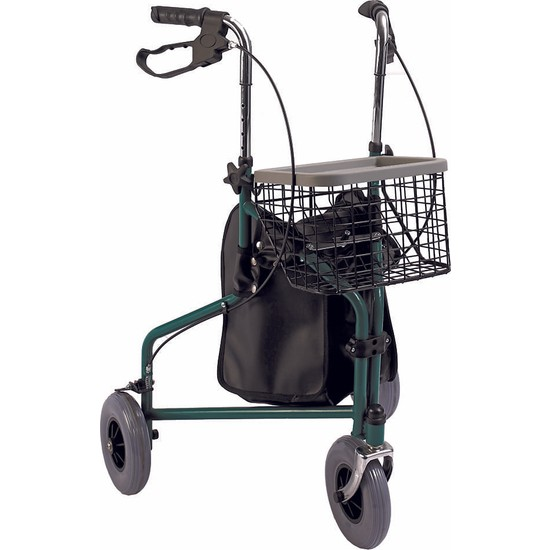Loco PR-888 3 Tekerlekli Sepetli Yürüteç / Rollator