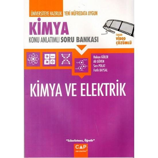 Çap Yayınları Kimya Kimya Ve Elektrik Konu Anlatımlı Soru Bankası - Ali Güven