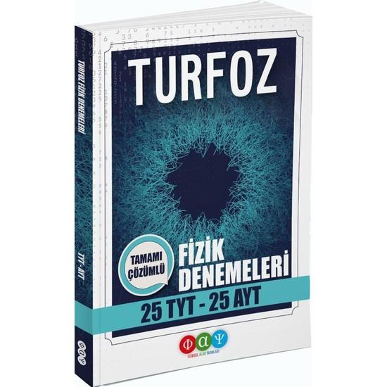 Fiziksel Alan Yayınları TYT AYT Fizik TURFOZ 25li Denemeleri